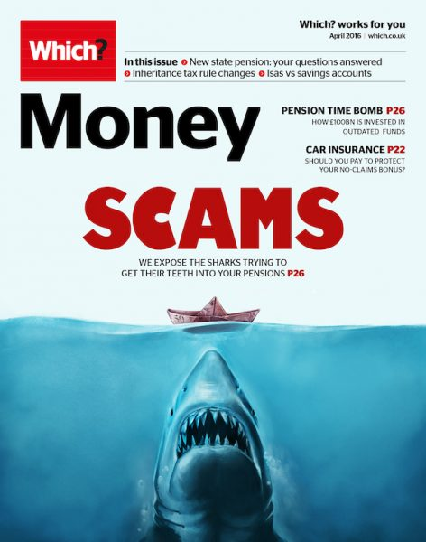 Which? Money - Scams cover art