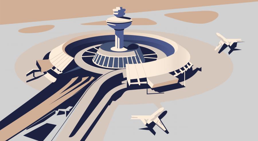 Soviet Modernism: Zvartnots Airport in Yerevan