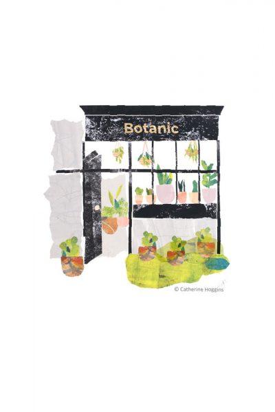 The Plant Shop - Illustration