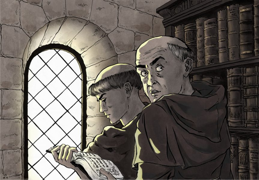 The Abbey: looking for the forbidden book
