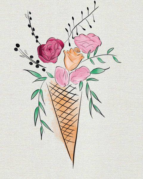 Ice Cream flower bouquet