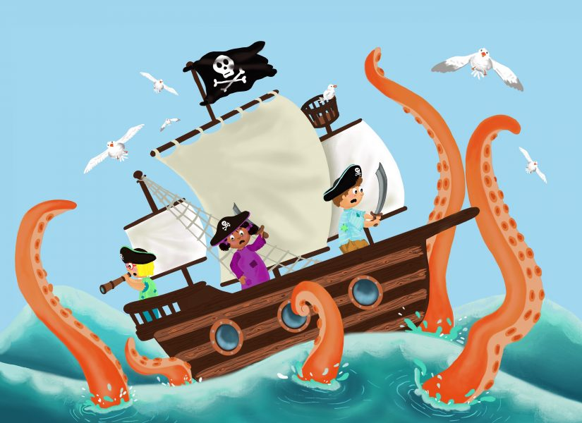 Ahoy! Sea monster...