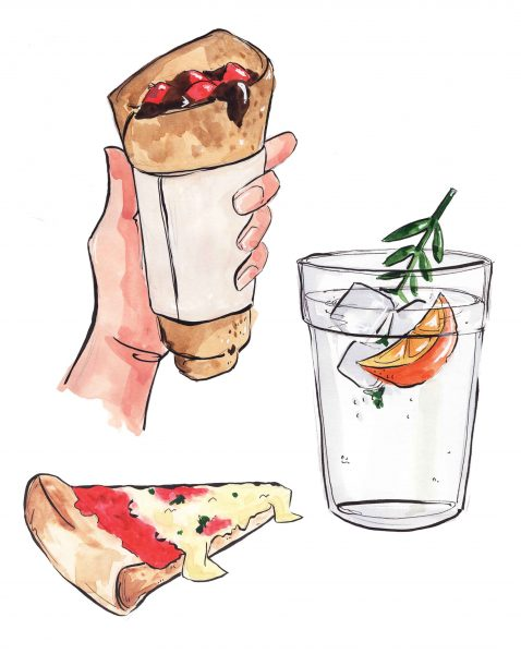 Editorial food illustration