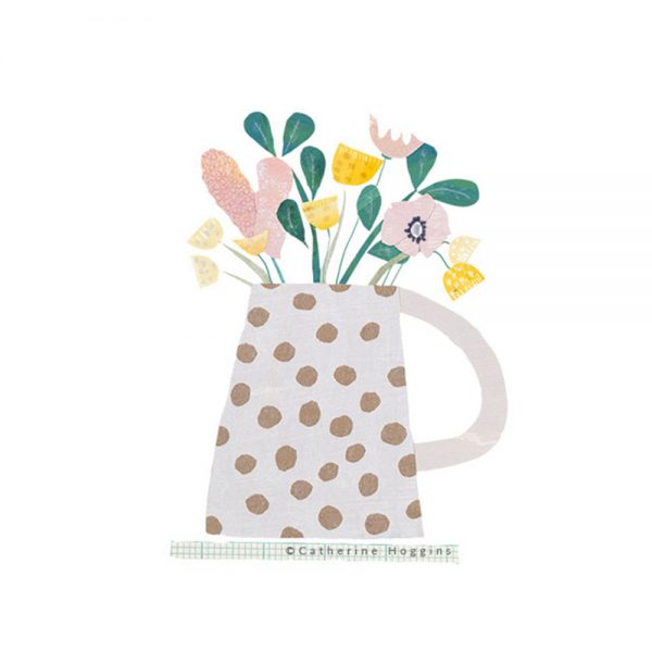 Catherine-Hoggins---Pretty-Flowers-in-Spotted-Jug