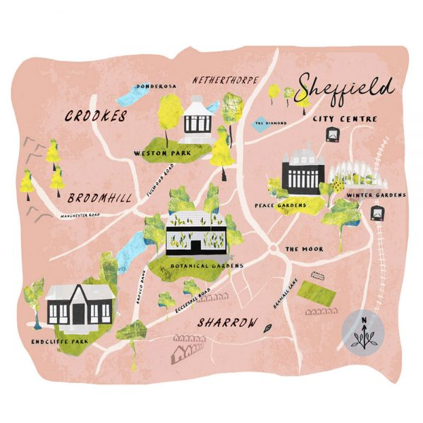 Catherine-Hoggins---Sheffield-Green-Spaces-Map