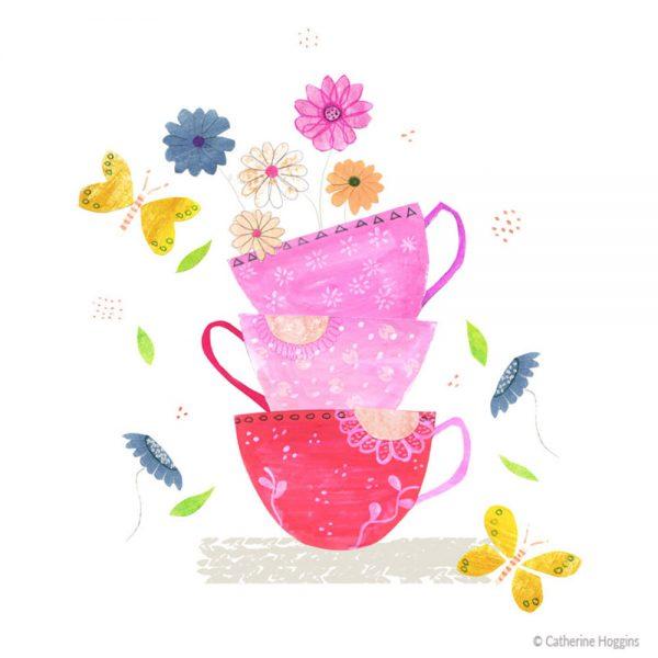 Catherine-Hoggins-Tea-cup-flowers-illustration