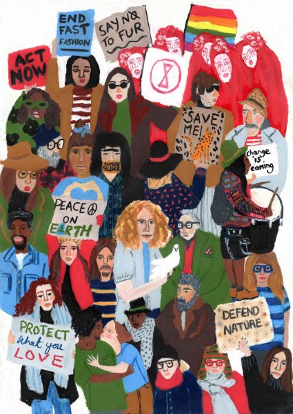 Climate March by E Donohoe