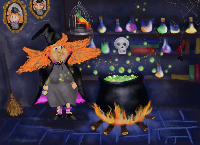 Greta the witch