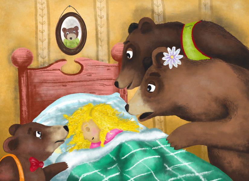Goldilocks- who's in my bed?