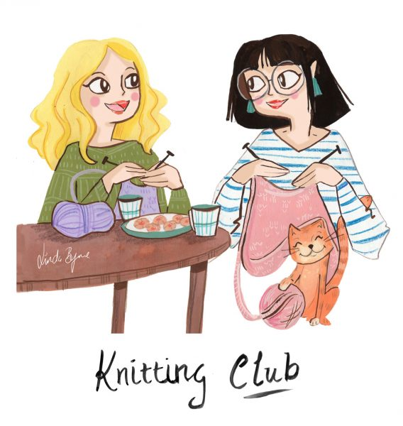 Editorial License Knitting Club