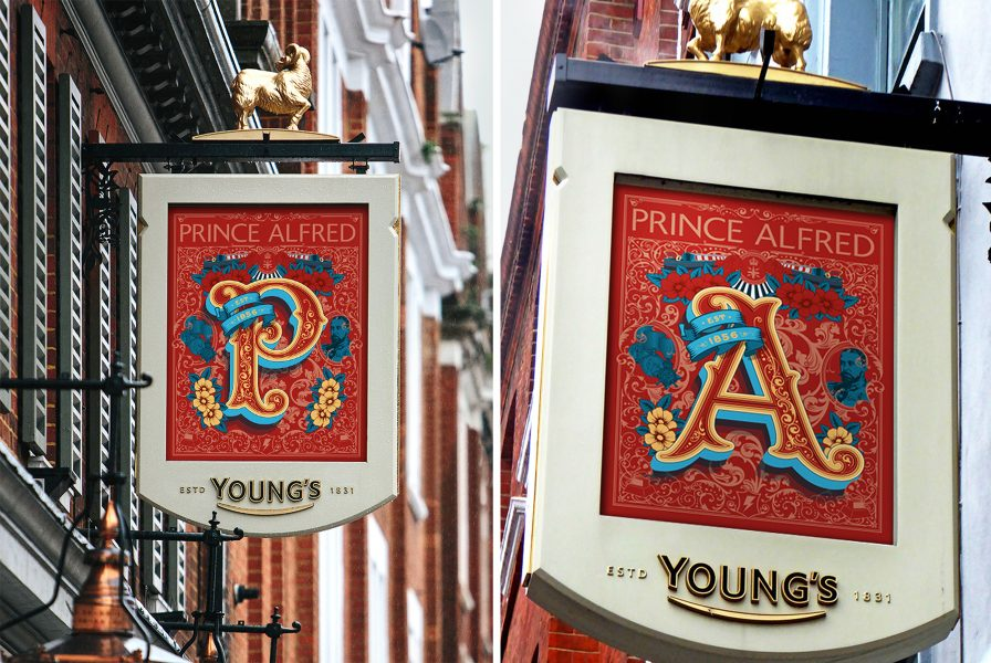 Prince Alfred Pub Sign