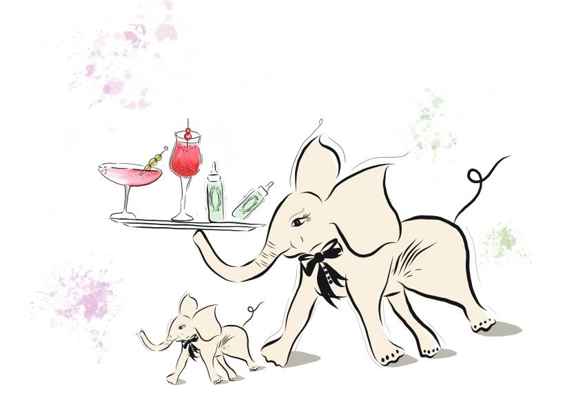 Elephant Cocktail Party