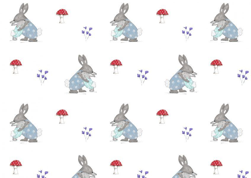 Bunnies aop