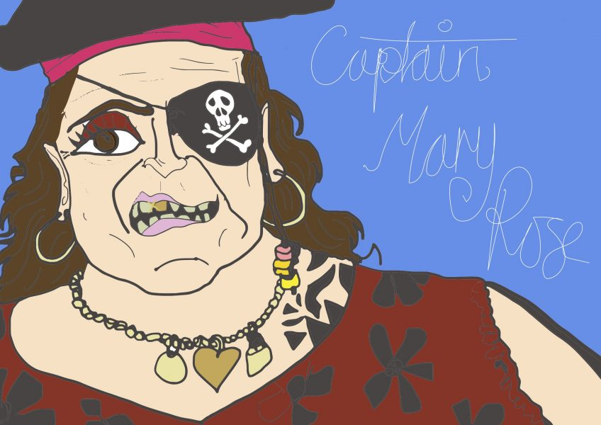 captain mary rose more piraty