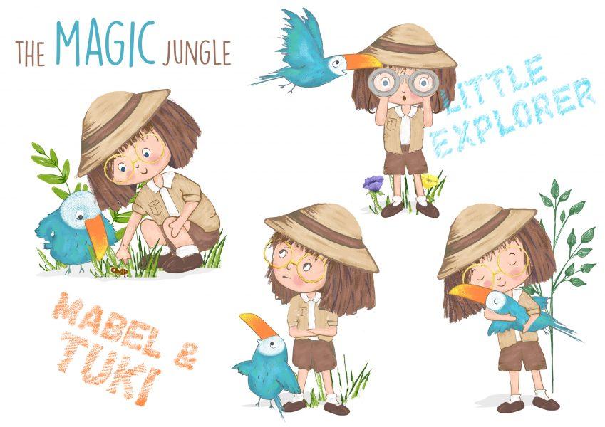 Little explorer development