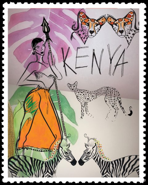 Kenyan Stamp