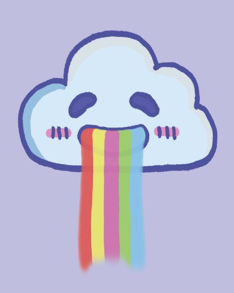 Vomiting Rainbow