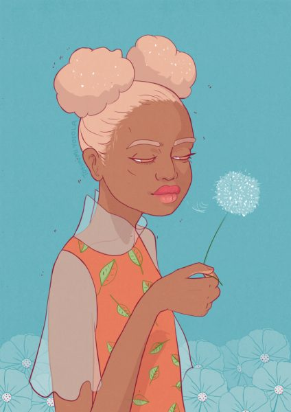 Dandelion Wish by Tofunmi Yosola