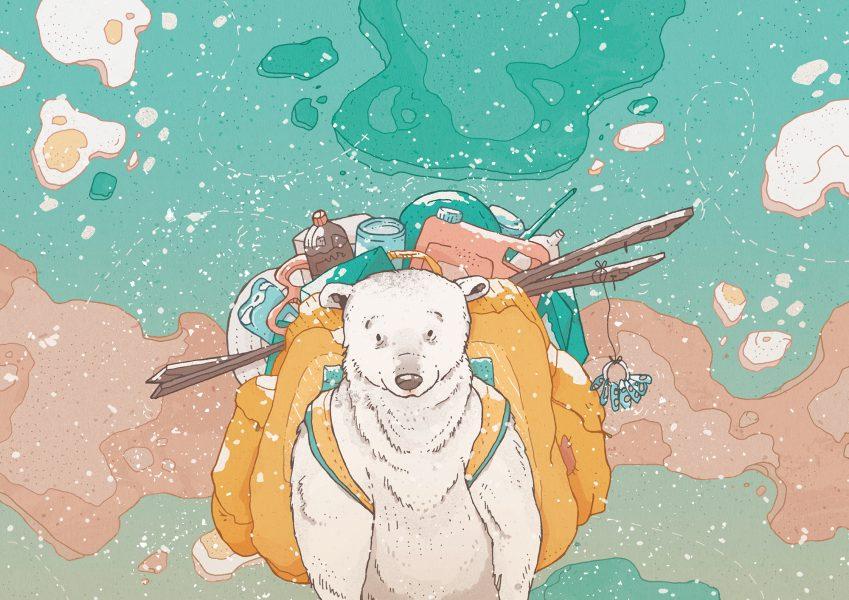 The Igloo Polar Bear