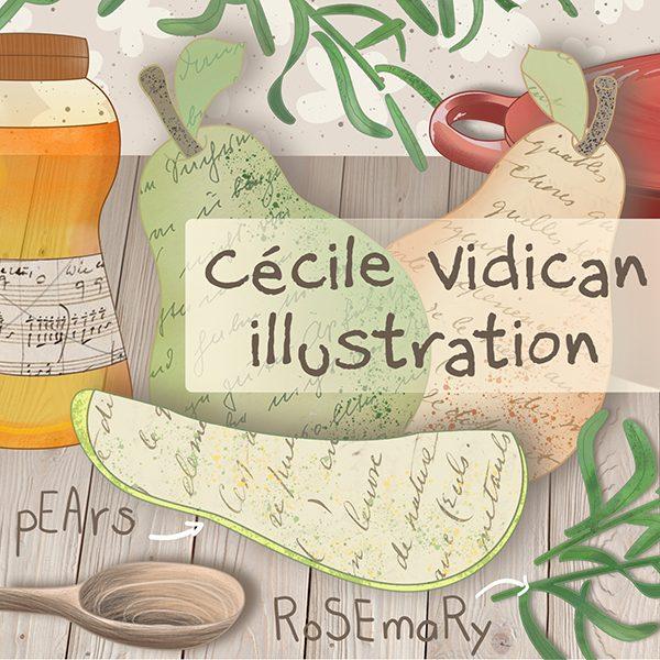 Cecile Vidican Illustration