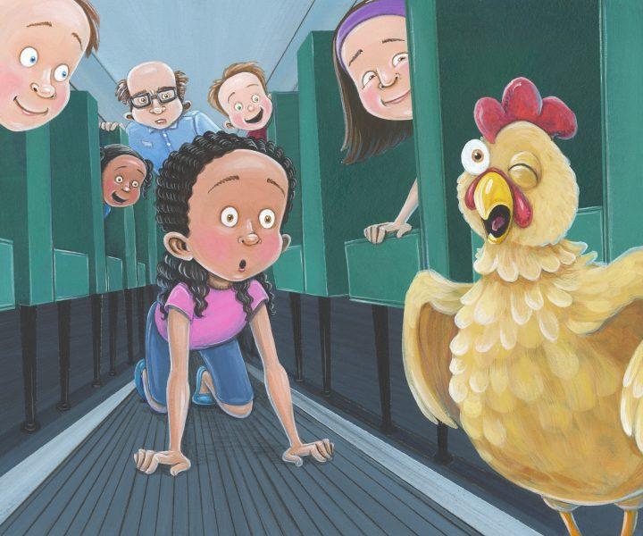 From: Chicken Licken Rides the Bus