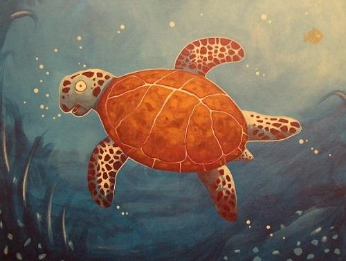 Double-take Turtle