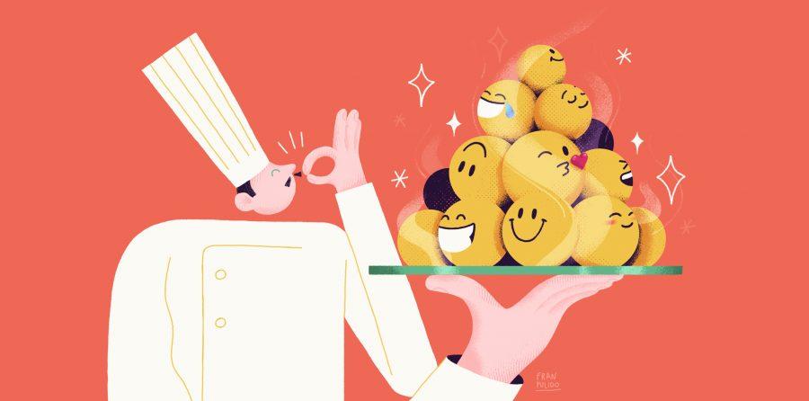 chef emoji-fran pulido
