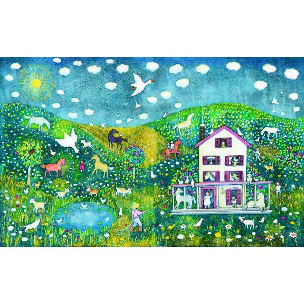 Crowded Farmhouse