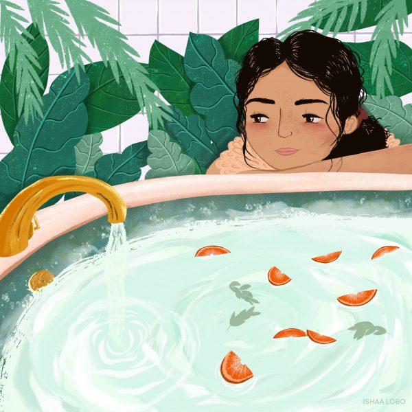Running a nice bath