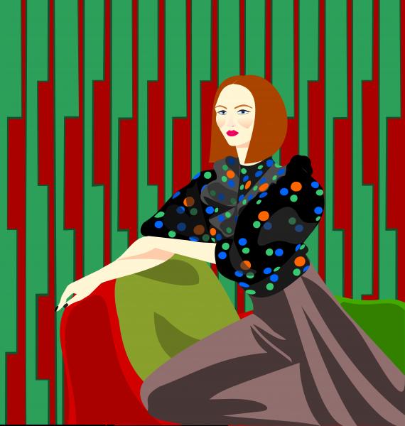 Portrait of a woman Alice