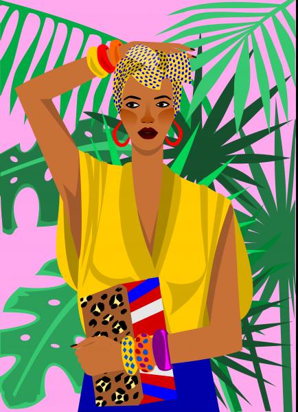 Portrait of a woman Deshane