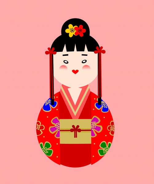 Roly Poly Geisha 2