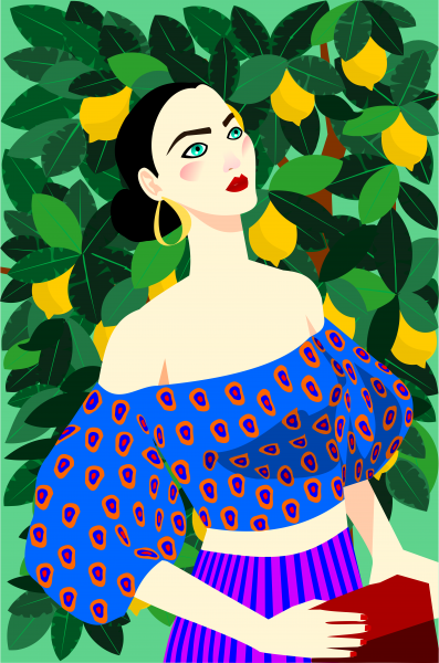 Portrait of a woman: Sofia