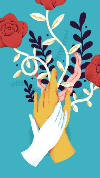 hand flower - fran pulido