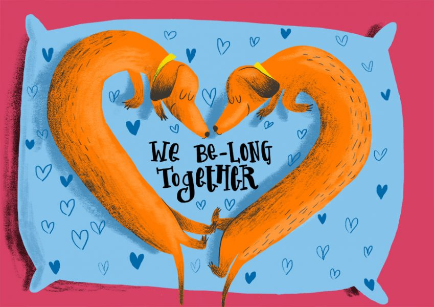 we be-long together