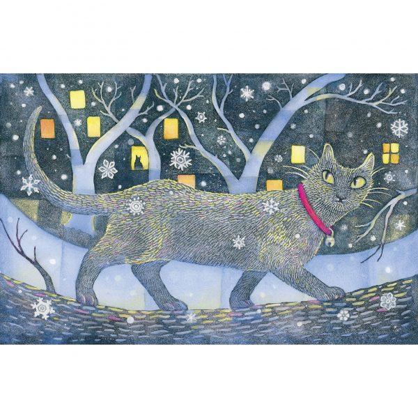 winter cat square 1692