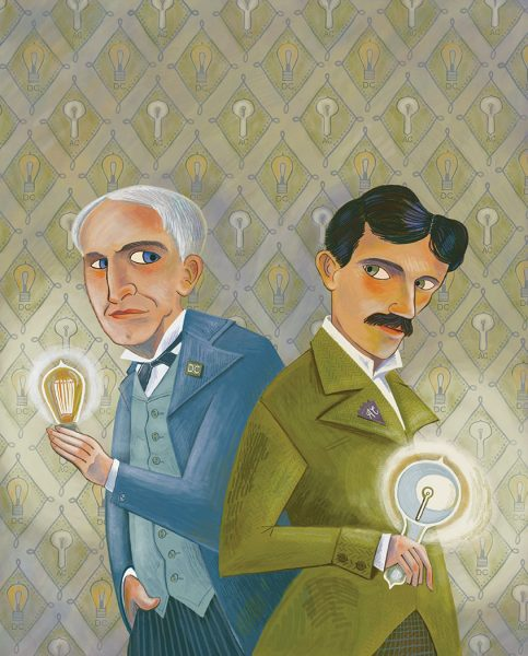 Edison and Tesla