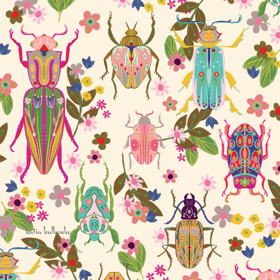 Beetles pattern