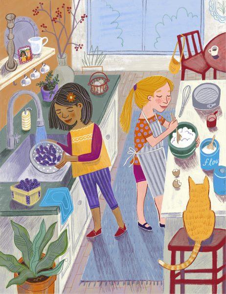 Friends Baking