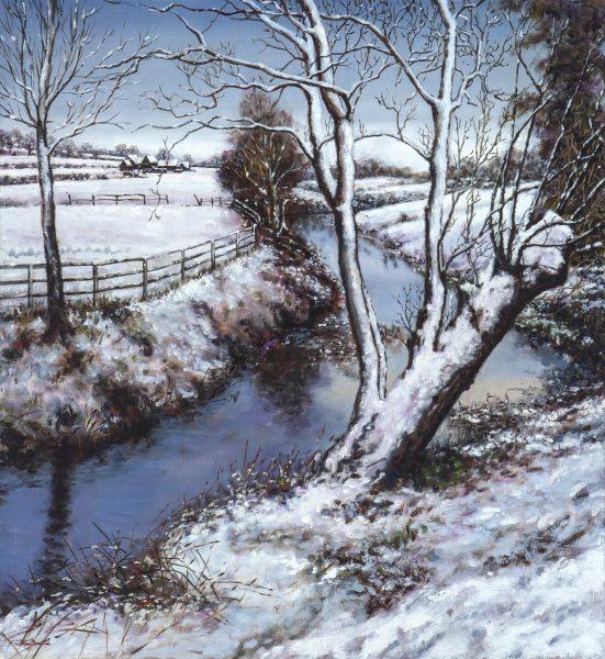 River Colne Snow web