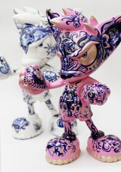 Anna Sokolova x Loes van Delft Contemprorary Sculpture