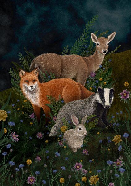 Woodland Flora and Fauna