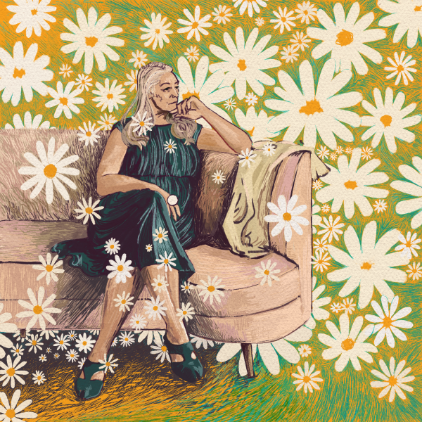 Lady of the Daisies