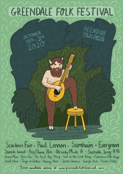 Greendale Folk Festival Poster
