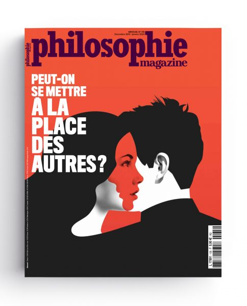 Cover and main theme illustration for Philosophie magazine (France) «Can we put ourselves in the shoes of others»