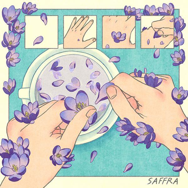 Saffra Single cover design