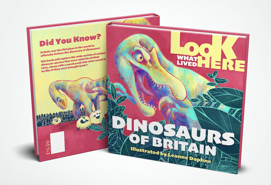 Look What Lived Here Book Mock Up