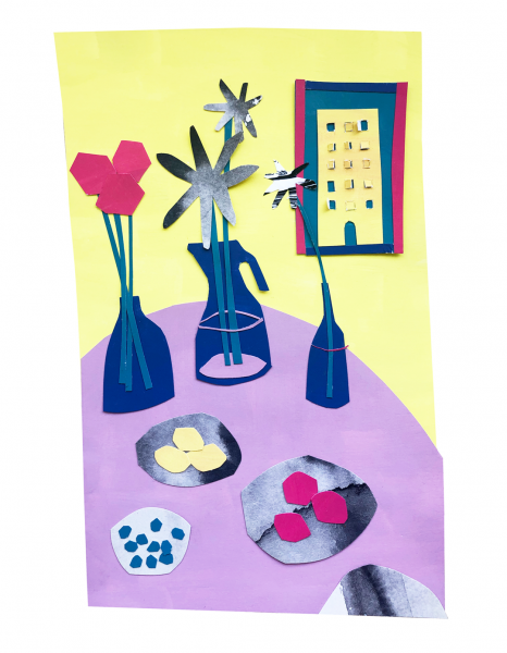 illustration-collage-table-flowers-wo