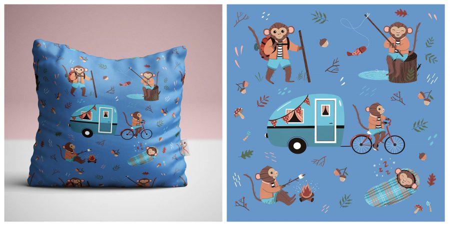 Camping Monkeys