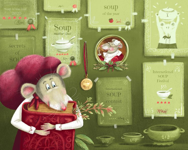 The best soup cook mouse